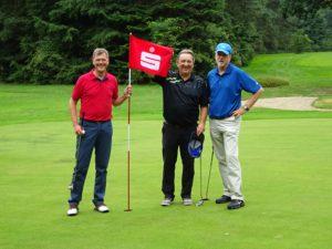 Der Siegerflight mit Martin Kittel, Bernd Hövener und Reinhold Nichau