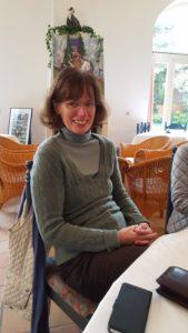 Andrea Wennemann-Kalvar ist sichtlich zufriedeni